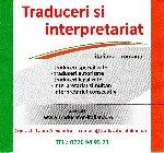 Birou traduceri italiana  Traducatori autorizati